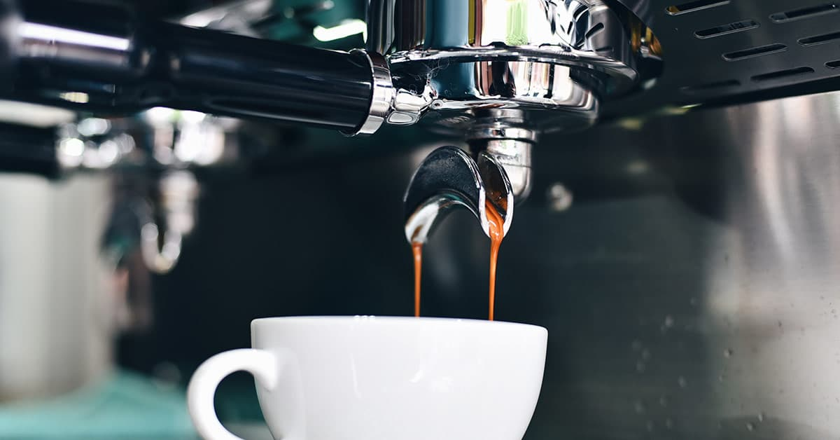 Kaffemaskin till företag